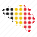belgian, belgium, country, location, map icon