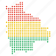bolivia, bolivian, country, location, map icon