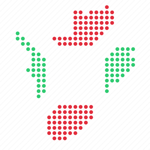 burundi, country, location, map icon
