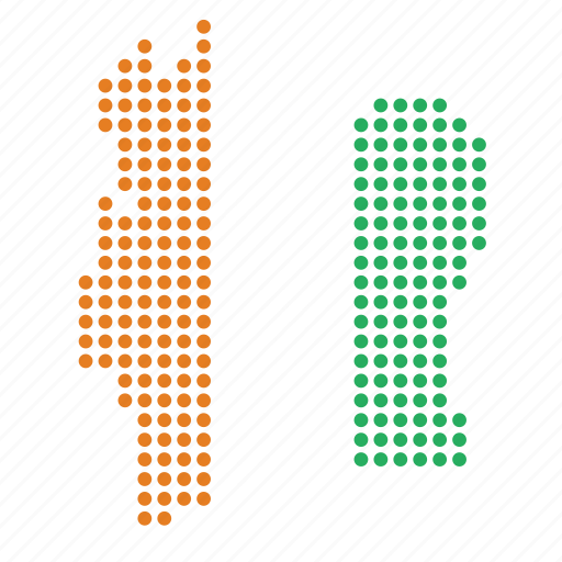 cote, country, divoire, ivory coast, location, map icon