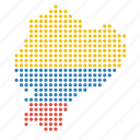 country, ecuador, location, map icon