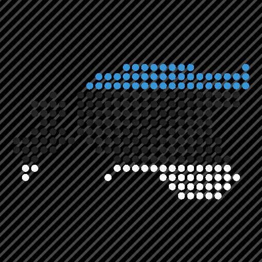 country, estonia, estonian, location, map icon