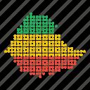 country, ethiopia, ethiopian, location, map icon