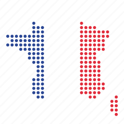 country, france, french, location, map icon