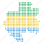 country, gabon, gabonese, location, map icon