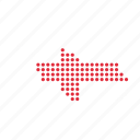 country, georgia, georgian, location, map icon