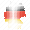 country, german, germany, location, map icon