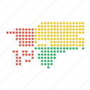 bissau, country, guinea, guinean, location, map icon