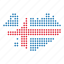 country, iceland, icelandic, location, map icon