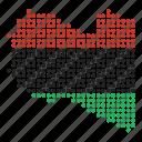 libya, map, location, country, libyan