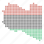 country, libya, libyan, location, map icon