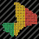 mali, map, location, country, malian