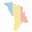 map, moldova, location, country, moldovan