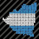 country, location, map, nicaragua, nicaraguan icon