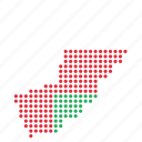 map, oman, location, country, omani icon