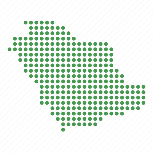 arabia, arabian, country, location, map, saudi icon