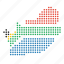 country, location, map, south africa, south african icon