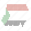 country, location, map, sudan, sudanese icon
