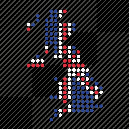 britain, british, location, map, uk, united kingdom icon
