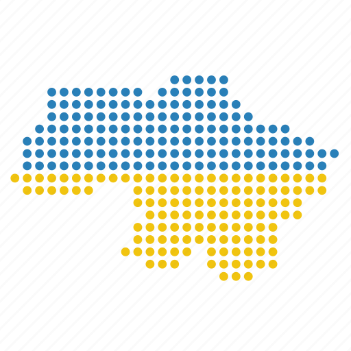 country, location, map, ukraine, ukrainian icon