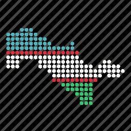 country, location, map, uzbekistan, uzbekistani icon