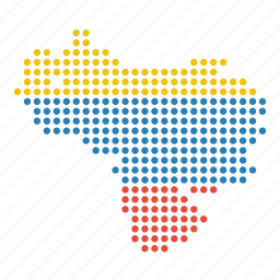 country, location, map, venezuela, venezuelan icon