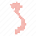 map, vietnam, location, country, vietnamese