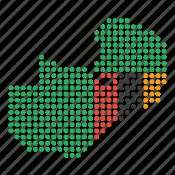 country, location, map, zambia, zambian icon