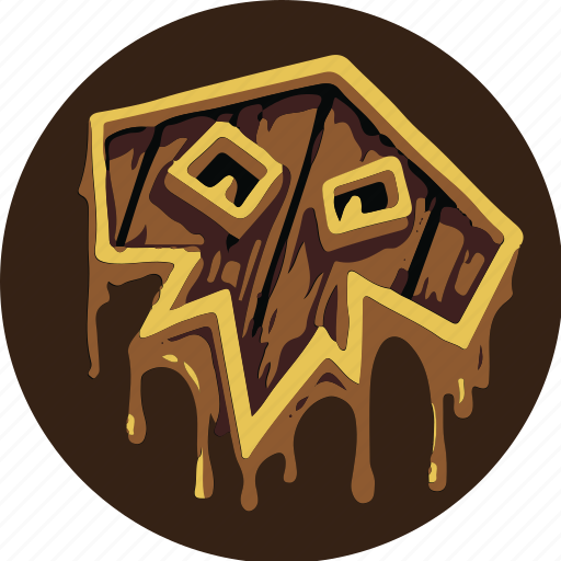 blood, game, power, shaman, shield, warcraft, wow icon