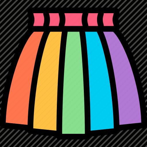 campaign, carnaval, lgbtq, skirt icon