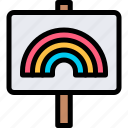 campaign, carnaval, lgbtq, sign icon