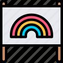 banner, campaign, carnaval, lgbtq icon