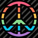 campaign, carnaval, lgbtq, peace icon