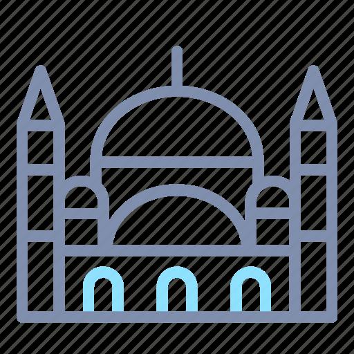 architecture, blue, building, famous, landmark, mosque, turkey icon