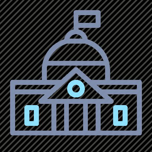 architecture, building, capitol, construction, government, hill, landmark icon