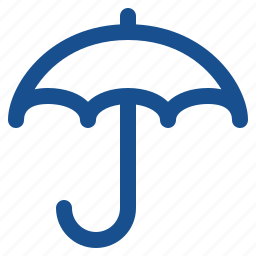 cloudy, insurance, investment, protection, rain, raining, storm, umbrella, weather, wet icon