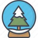 ball, christmas, glass, holiday, tree, xmas icon