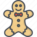candy, christmas, cookie, gingerbread, holiday, xmas icon