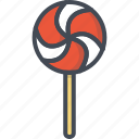christmas, holiday, lollipop, xmas icon