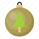 ball, bauble, christmas, decoration, ornament, pine tree