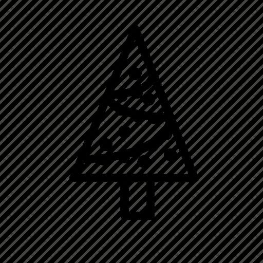 decoration, forest, nature, santa, tree, weather, xmas icon