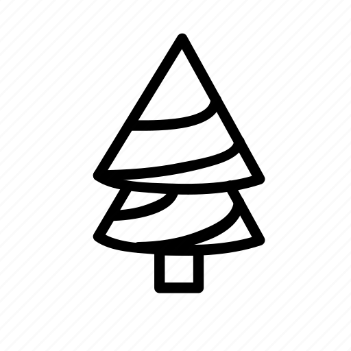 forest, nature, new, snow, tree, wood, year icon