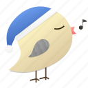 birdyblue, christmas, holiday, songbird, winter icon