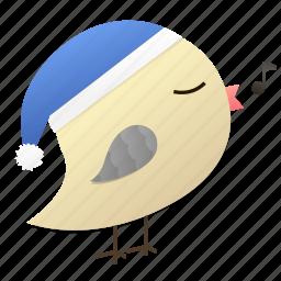 birdyblue, christmas, holiday, songbird, winter icon