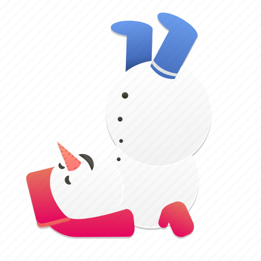 christmas, fun, holiday, new year, snowman, winter icon