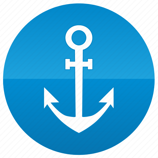 anchor, boat, ship, yacht icon