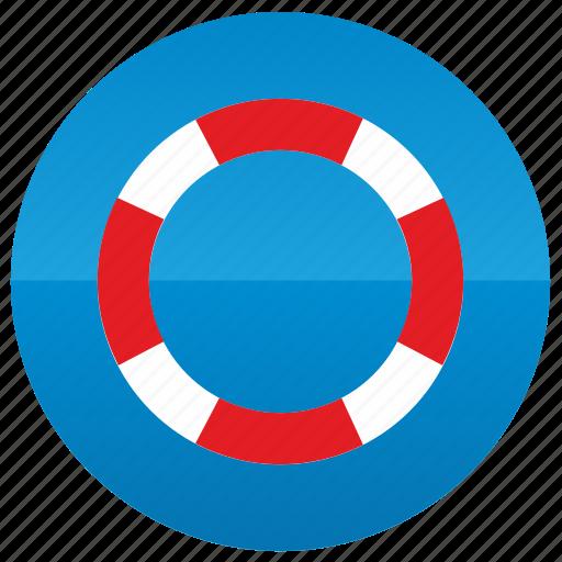 buoy, float, lifesaver, sea, yacht icon