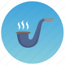 boat, captain, pipe, smoking, yacht icon