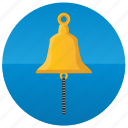 attention, bell, ring, warwing, yacht icon