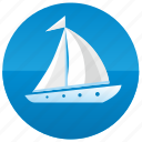 boat, sailing, ship, yacht icon